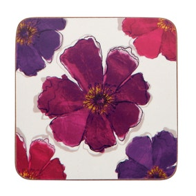 Mulberry Flower Pack of 4 Coasters