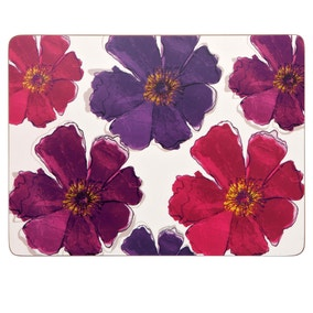 Mulberry Flower Pack of 4 Placemats
