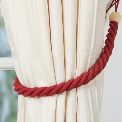 Cotton Rope Tieback