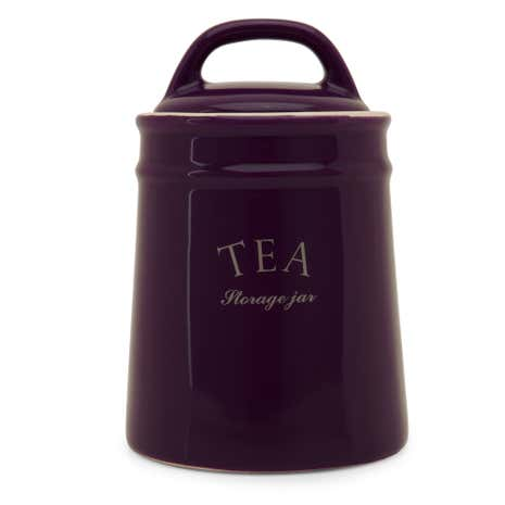 Mulberry Flower Tea Canister