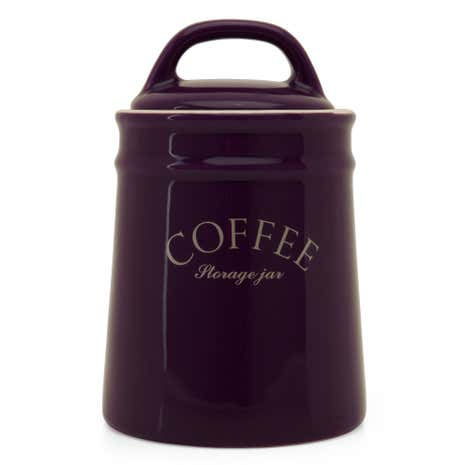 Mulberry Flower Coffee Canister