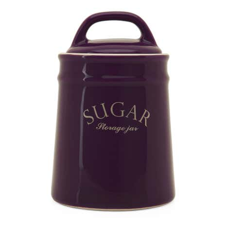 Mulberry Flower Sugar Canister
