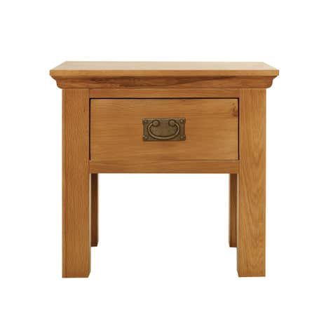 Dorchester Oak Lamp Table
