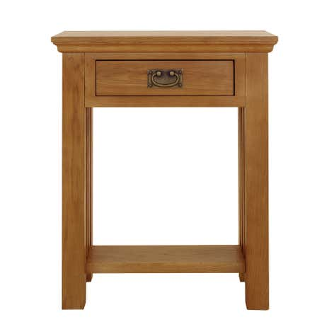 Telephone Table dorchester oak telephone table | dunelm