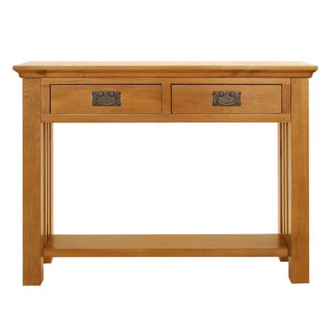 Dorchester Oak Console Table