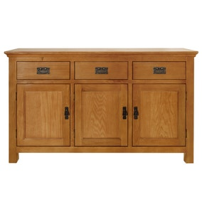 Dorchester Oak Large Sideboard