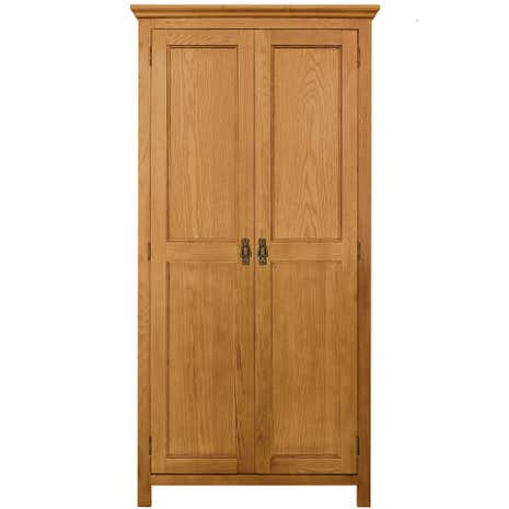 Dorchester Oak Double Wardrobe