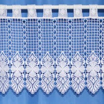 Macrame Cafe Lace Net Curtain Fabric