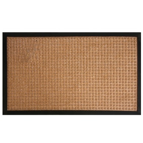 Blocks Textured Doormat