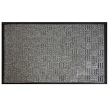 X Hatch Textured Doormat