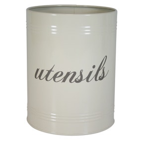 Farmhouse Utensil Storage Canister