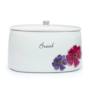 Mulberry Flower Bread Bin