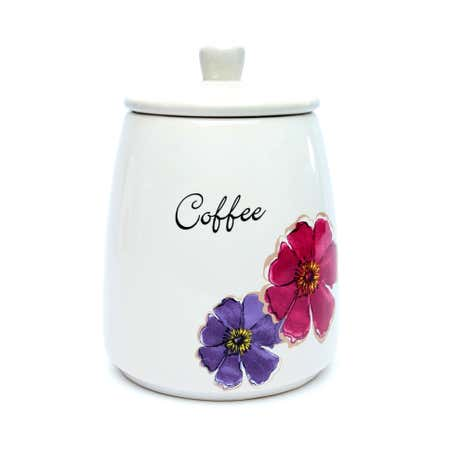 Mulberry Flower Coffee Storage Jar
