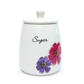 Mulberry Flower Sugar Storage Jar