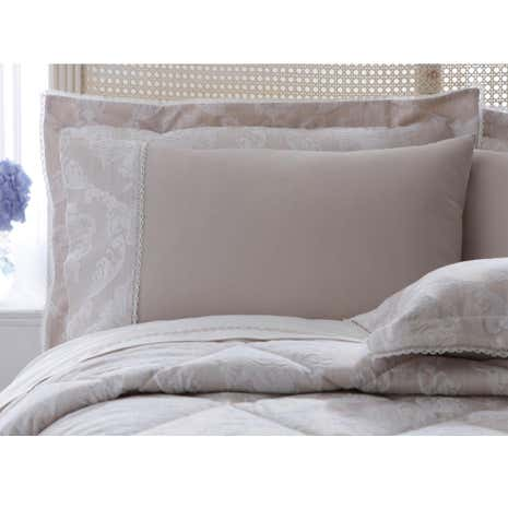 Dorma Aveline Natural Cuffed Pillowcase
