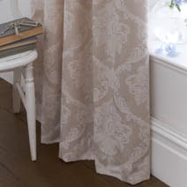 Dorma Aveline Natural Lined Pencil Pleat Curtains