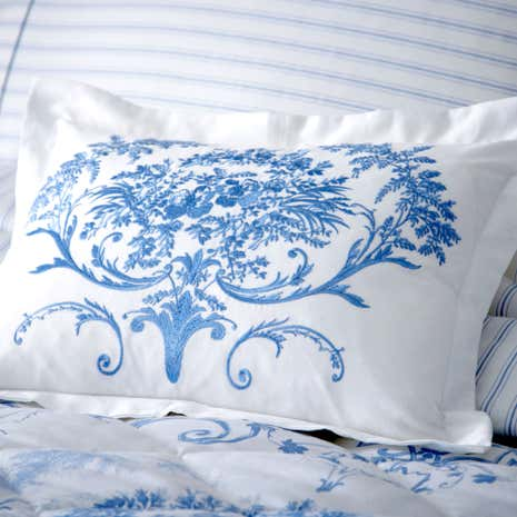 Dorma Toile Blue Cushion