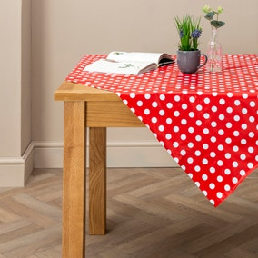 Dotty Rectangle PVC Tablecloth