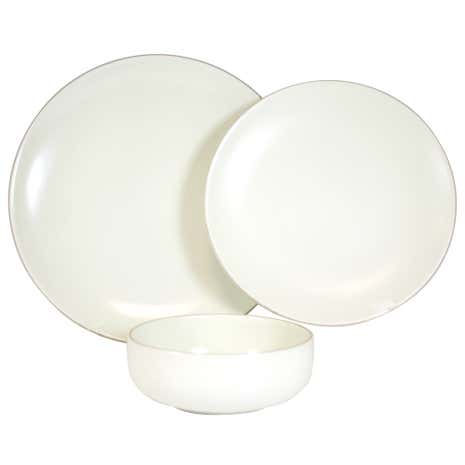 Cream Monaco 12 Piece Dinner Set