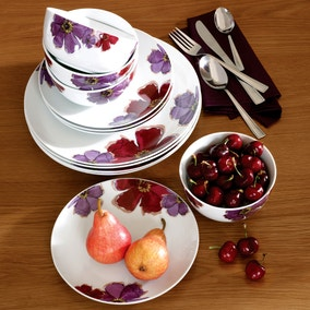 Mulberry Flower 12 Piece Dinner Set