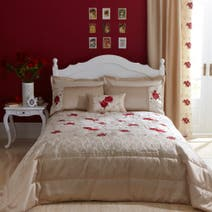 Red Juliet Bedspread