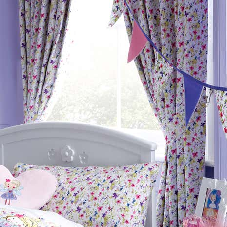 Lillybelle Blackout Pencil Pleat Curtains