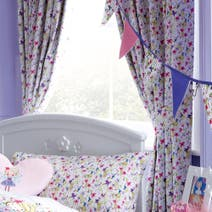 Kids Lillybelle Blackout Pencil Pleat Curtains