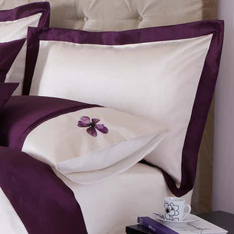 Louisa Plum Oxford Pillowcase