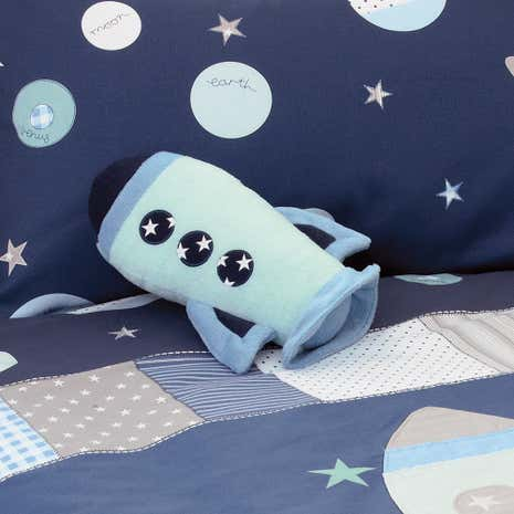 Kids Space Mission 3D Cushion