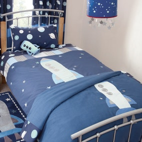 Space Mission Bedspread