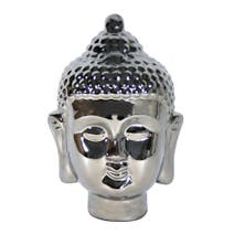 Black Ice Buddha Head