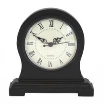 Black Ice Wooden Mantel Clock