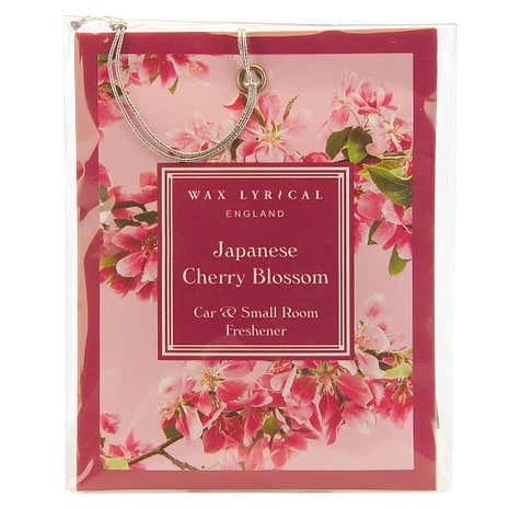 Wax Lyrical Japanese Cherry Blossom Car Freshener