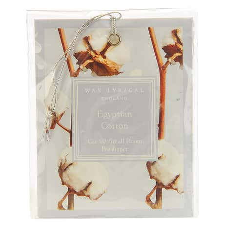 Wax Lyrical Egyptian Cotton Car Freshener