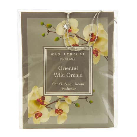 Wax Lyrical Oriental Orchid Car Freshener