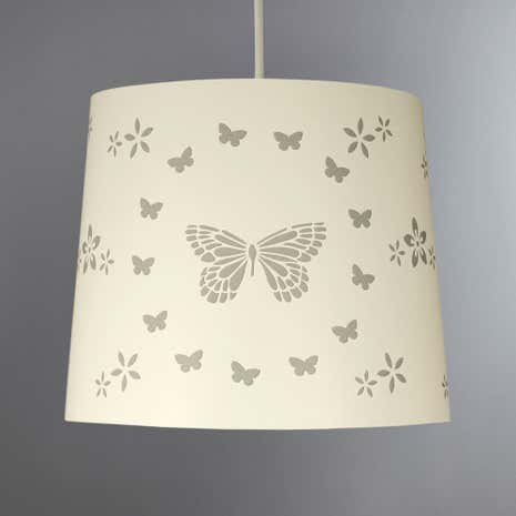 Ceiling lamp shades dunelm laser cut butterfly pendant aloadofball Choice Image