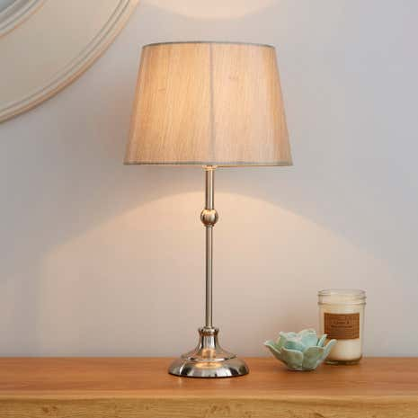Metal Ball Table Lamp