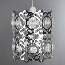 Jewel Cylinder Pendant Light Fitting