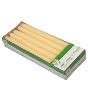 Pack of 10 Taper Candles