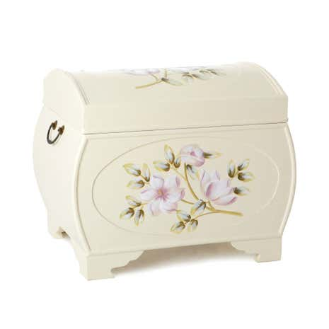 Pale Pink Posy Hand Painted Chest