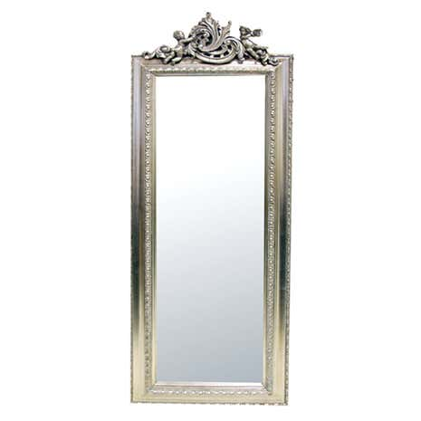 Full length stand alone mirror finest lambeth shabby chic for Cool full length mirror