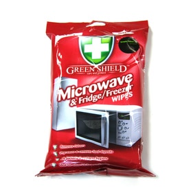 Greenshield Anti-Bacterial Microwave and Fridge Wipes