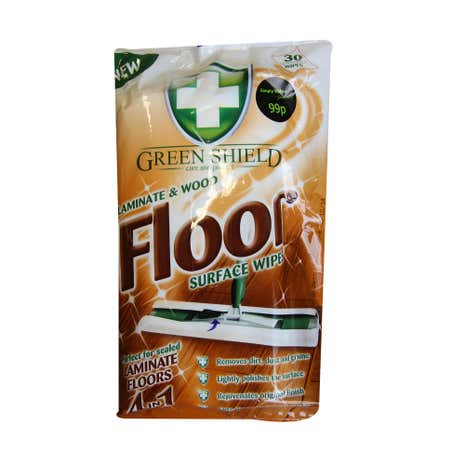 Greenshield Wood & Laminate Floor Wipes