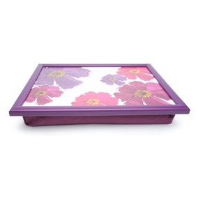 Mulberry Flower Lap Tray