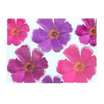 Mulberry Flower Glass Worktop Saver