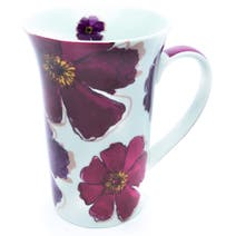 Mulberry Flower Tall Flair Mug