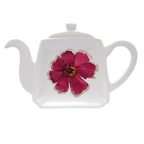 Mulberry Flower Teabag Tidy