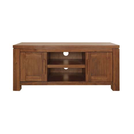 Seville Acacia Dark Wood Wide TV Unit