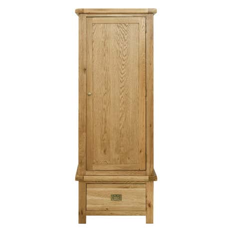 Aylesbury Oak Single Wardrobe