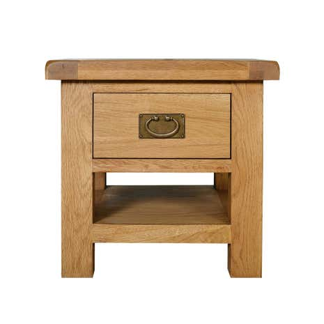 Aylesbury Oak Lamp Table with Drawer